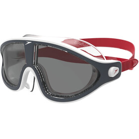 speedo Biofuse Rift V2 Goggles Unisex, red/smoke